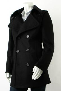 Oak Corpus Detachable Sleeve Peacoat