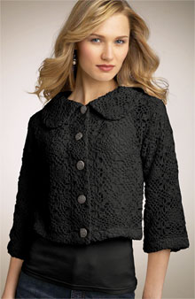 One Girl Who Crochet Jacket