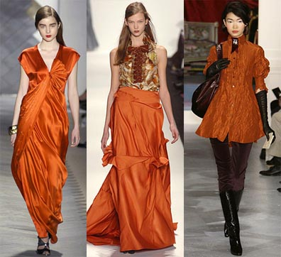 Fall 2008 Fashion Week Trend: Orange