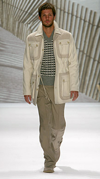 Perry Ellis Fall 2007 Runway
