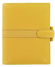 Piazza Filofax Organizer in Bright Yellow