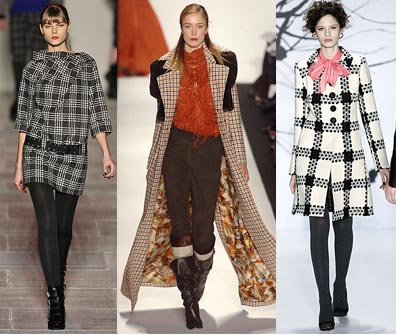 Fall 2008 Fashion Week Trend: Plaid