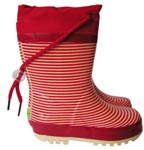 Berry Stripey Boots