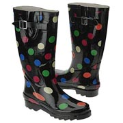 Polka Dot Chooka Rain Boot
