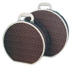 Polka Dot Retro Hatbox Luggage Set