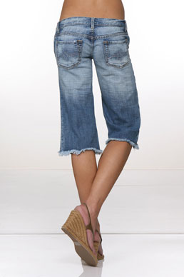 PunkTure Cropped Jean