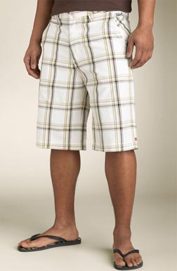 Quiksilver \'Santiago\' Plaid Shorts