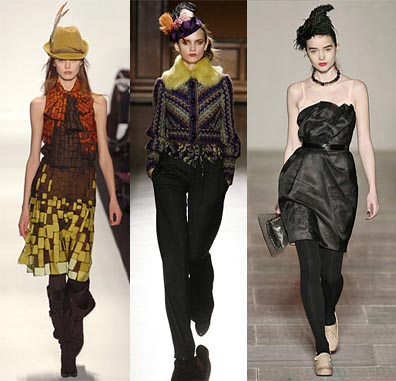 Fall 2008 Fashion Week Trend: Quirky Hats