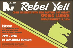 Rebel Yell Invite