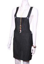 Rojas Dark Denim Overalls