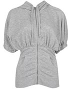 Ruched Kimono Sleeved Hoodie at Forever 21