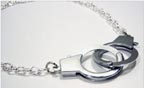 Sassy Handcuff Choker Necklace