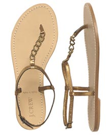 Seaside Riviera Sandals at J Crew