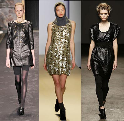 Fall 2008 Fashion Week Trend: Sequins and Shine