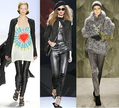 Fall 2008 Fashion Week Trend: Skinny Pants
