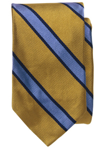 Cambridge Fairfield Repp-Stripe Skinny Tie