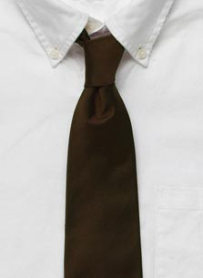 Solid Repp Cambridge Tie