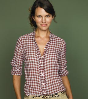 Sparkle Plaid Margaret Shirt