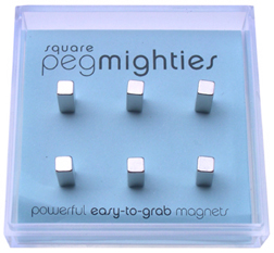 Square Peg Mighty Magnets