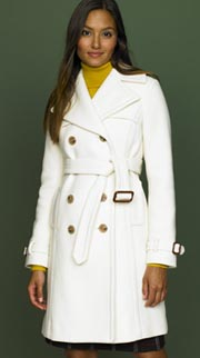 Stadium Cloth Trench Coat