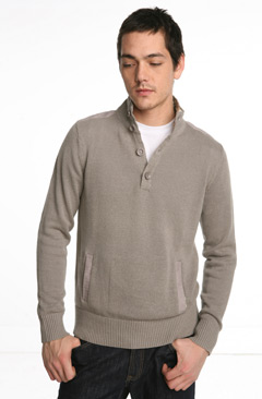 Stock Utility Mockneck Sweater