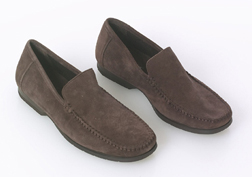 Suede Loafer by Hush Puppies