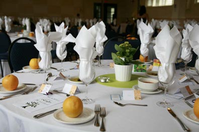 Ria\'s Wedding: Table