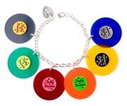 Tatty Devine Record Bracelet