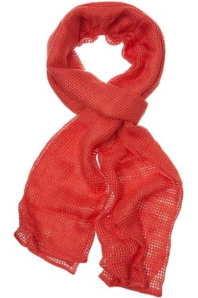Tight Square Weave Scarf