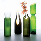 Transglass Recycled Vases at Re:Modern