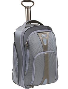 "T-Tech Pulse West Broadway 20"" Wheeled Carry-On Convertible Backpack"