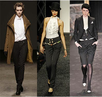 Fall 2008 Fashion Week Trend: Tuxedo Detailing
