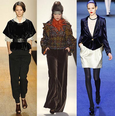 Fall 2008 Fashion Week Trend: Velvet