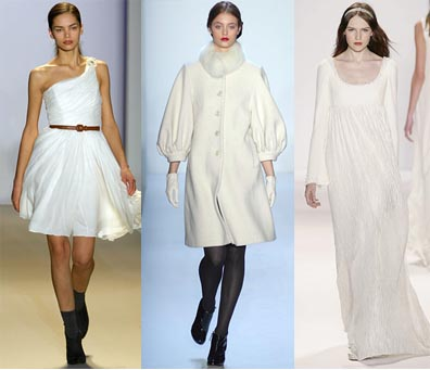Fall 2008 Fashion Week Trend: The Color White