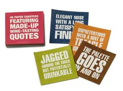 Bob's Your Uncle Wine Tasting Coasters