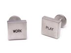 Work Play Cufflinks