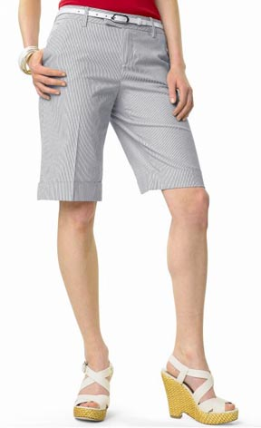 Martin Striped Bermuda Short