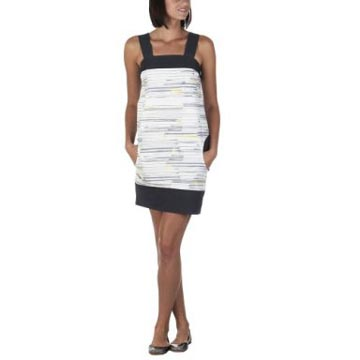 Go International Abstract Stripe Mod Dress