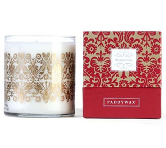 Luxe Glass Paddywax Candle