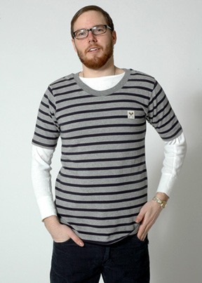 Men's Sailor Tee by Built by Wendy