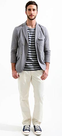 Man in Gray Jacket