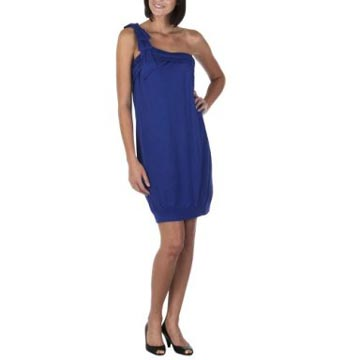 Go International One-Shoulder Jersey Dress