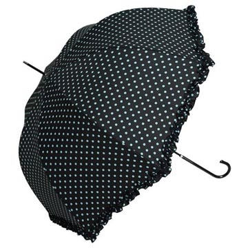 Retro Chic Polka Dot Umbrella