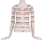 Striped Riviera Cardigan