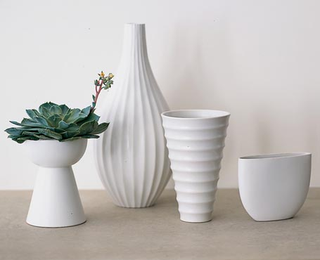 Ceramic Textured Vases