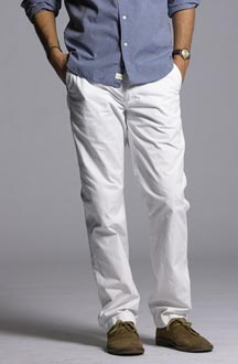 Classic Fit Lightweight Chino from J Crew