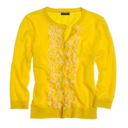 Cotton Cashmere Primrose Cardigan