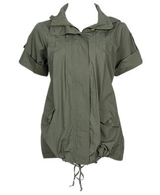 Safari Drawstring Jacket