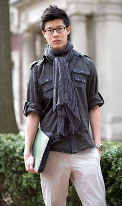 Sartorialist Scarf It Up