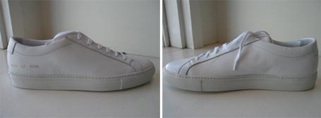 Common Projects Leather Low Top Shoes